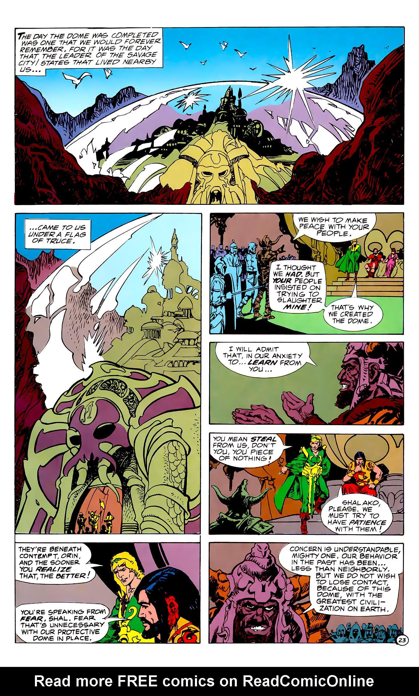 Read online Atlantis Chronicles comic -  Issue #1 - 23