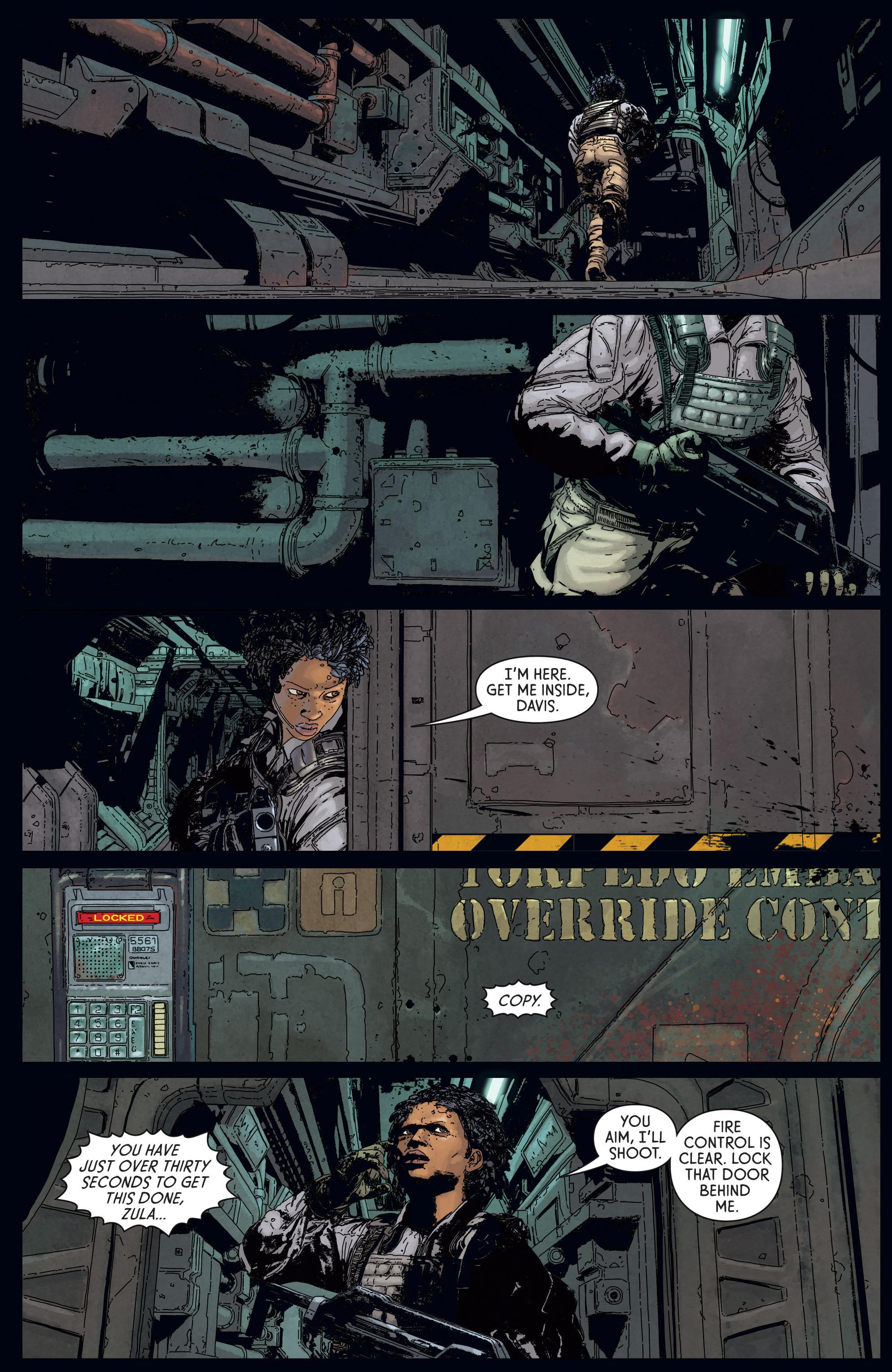 Read online Aliens: Defiance comic -  Issue #5 - 3