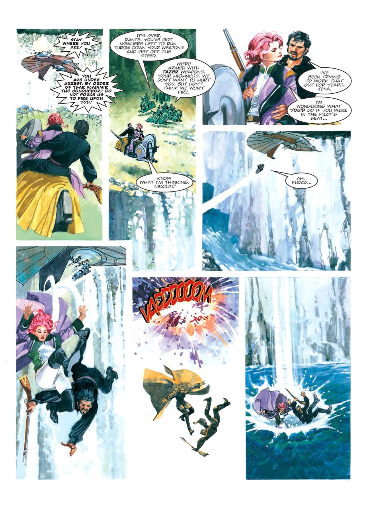 Read online Nikolai Dante comic -  Issue # TPB 9 - 106
