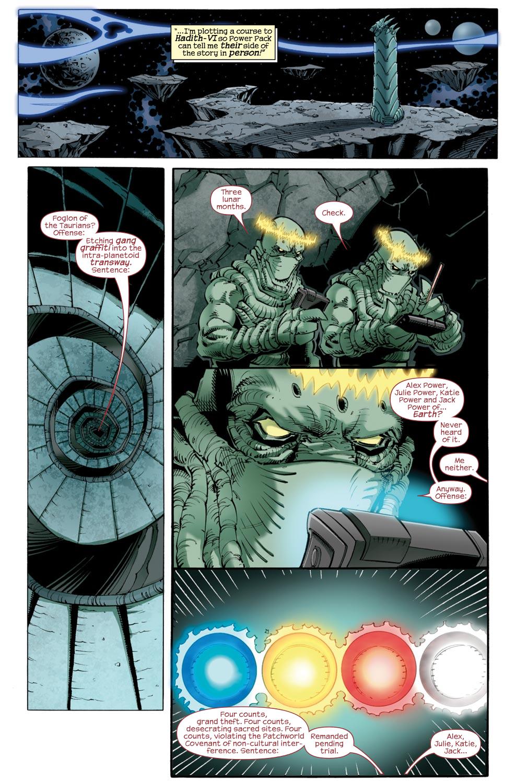 Read online Skrulls vs. Power Pack comic -  Issue #2 - 5