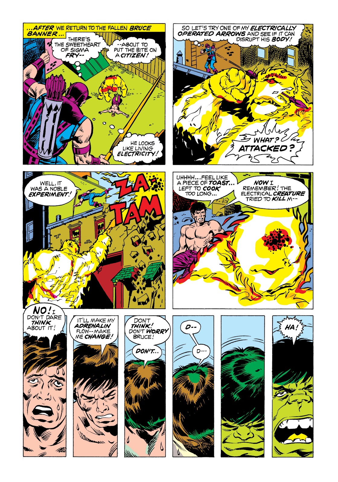 Read online Marvel Masterworks: The Incredible Hulk comic -  Issue # TPB 9 (Part 3) - 7
