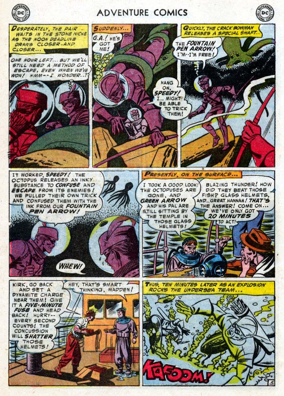 Read online Adventure Comics (1938) comic -  Issue #211 - 32