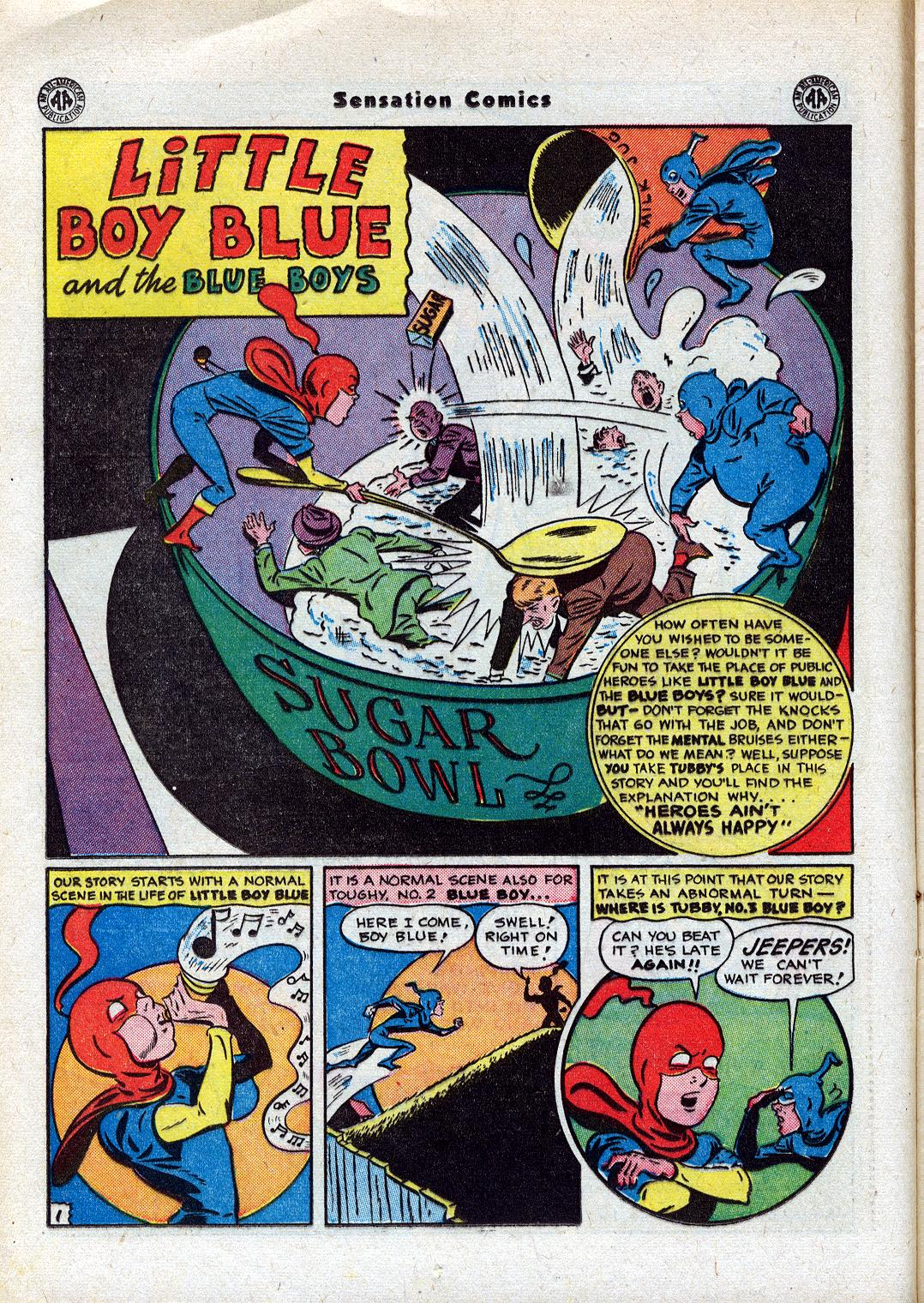 Read online Sensation (Mystery) Comics comic -  Issue #44 - 16