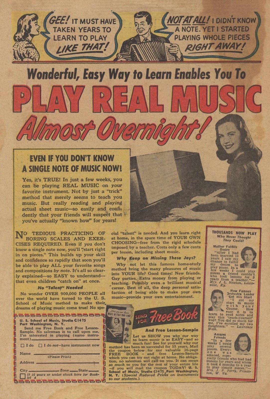 Love Romances (1949) issue 28 - Page 34