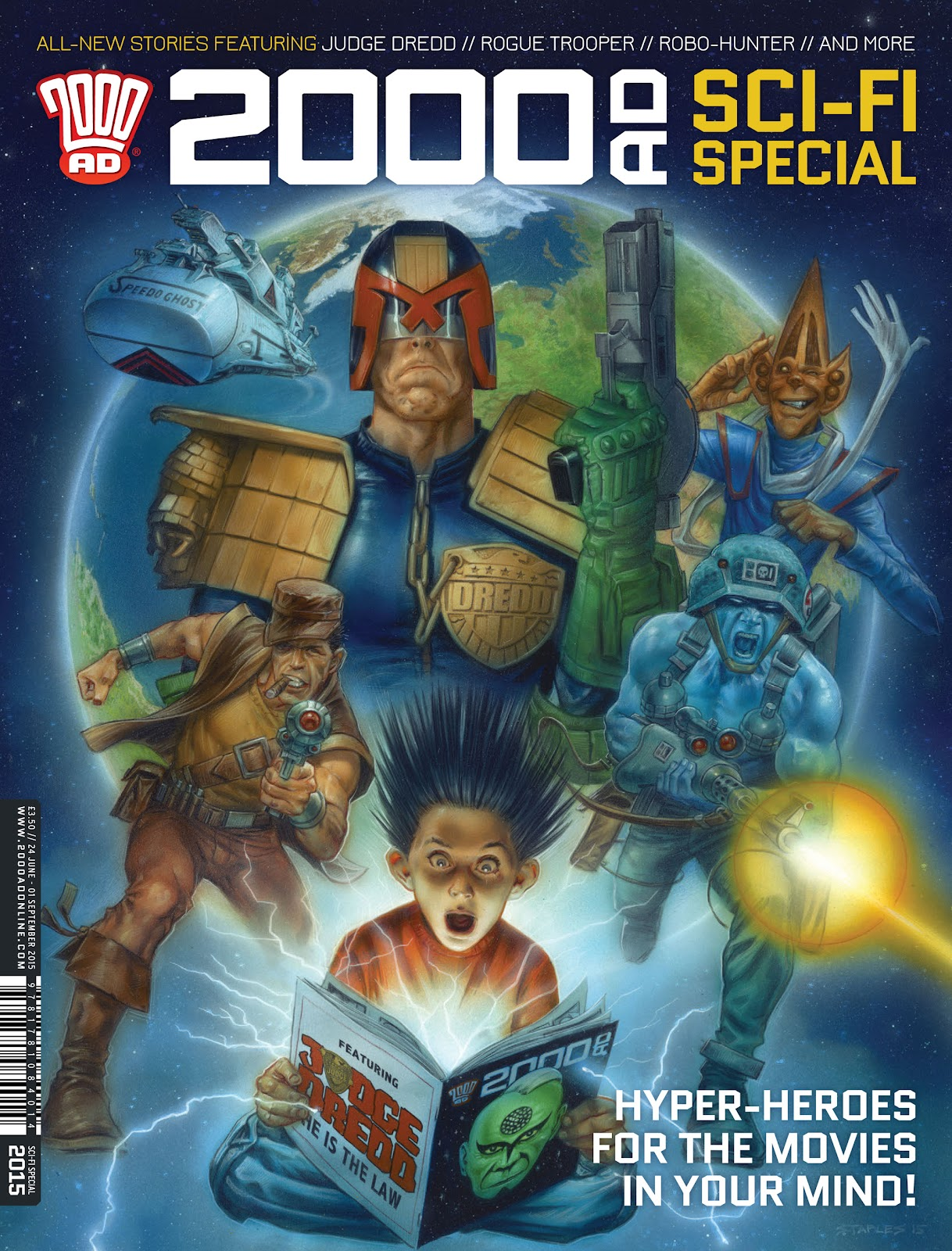 2000 AD issue Sci-Fi Special 2015 - Page 1