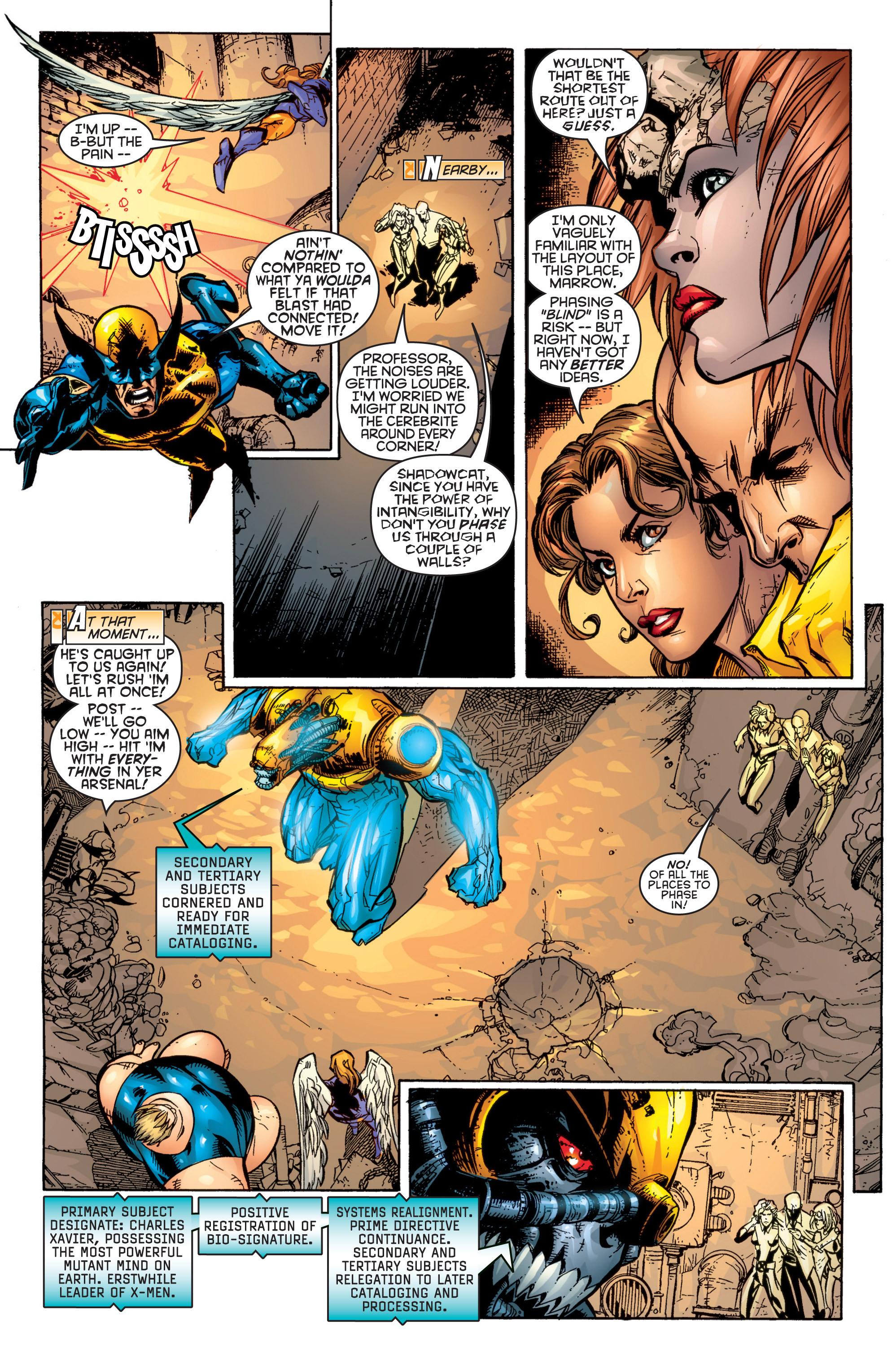 Read online Uncanny X-Men (1963) comic -  Issue #364 - 17