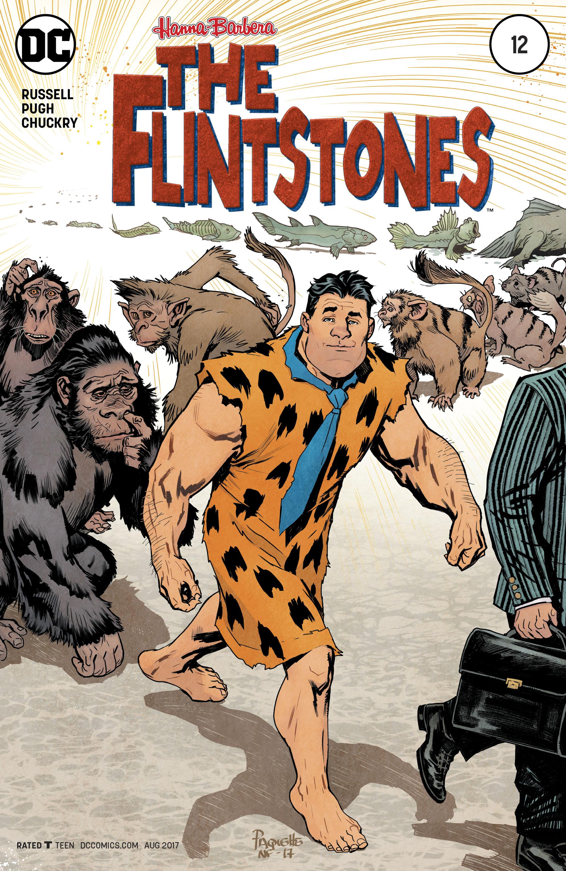 Read online The Flintstones comic -  Issue #12 - 1