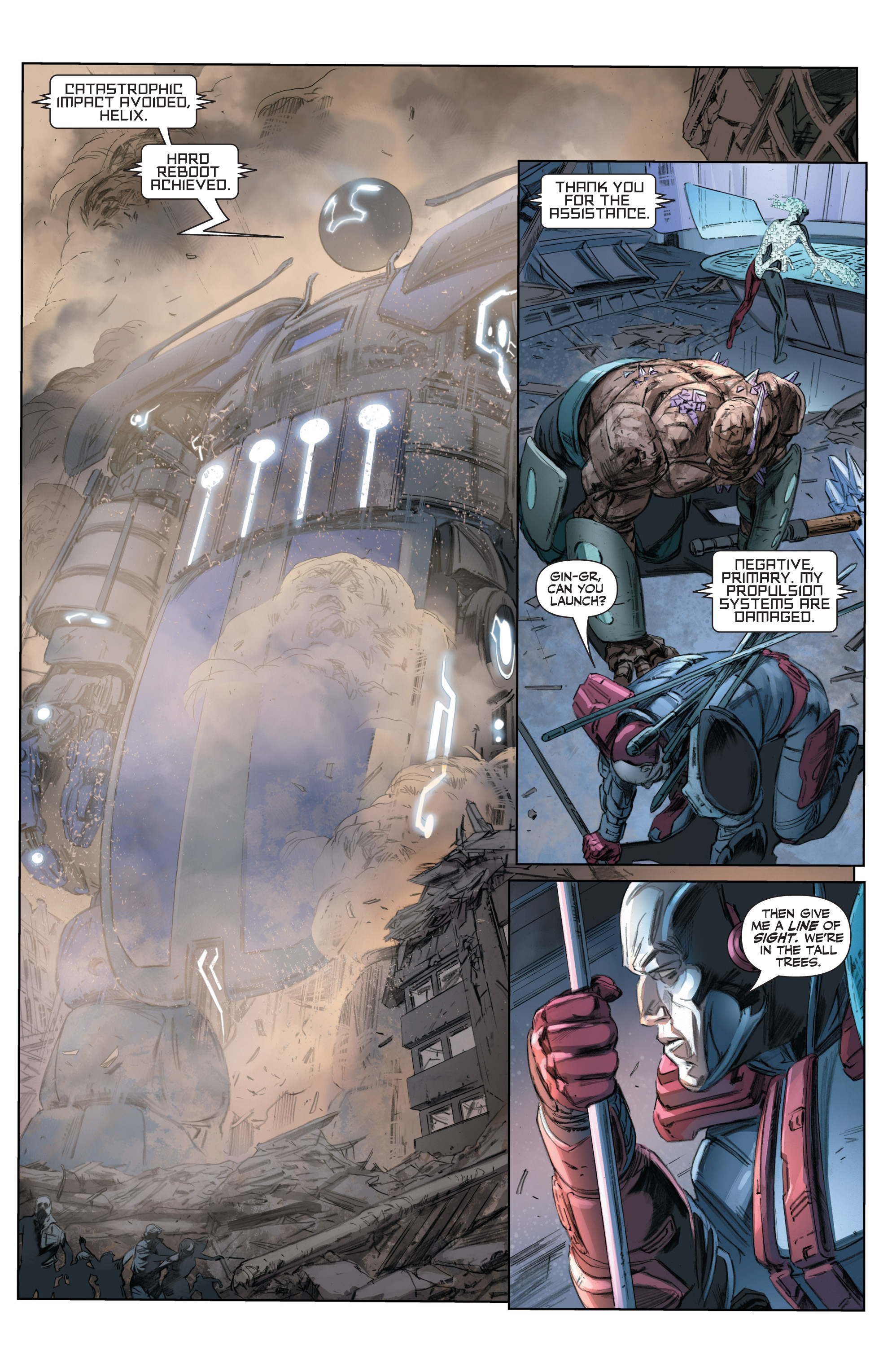 Read online Armor Hunters comic -  Issue #3 - 19
