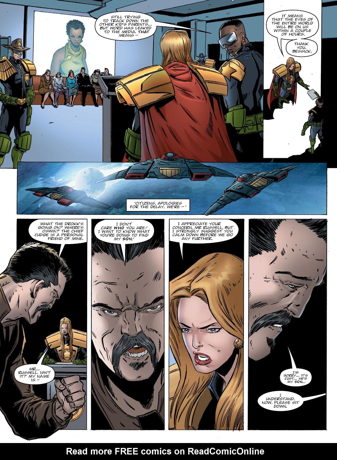 Judge Dredd Megazine (Vol. 5) Issue #381 #180 - English 8