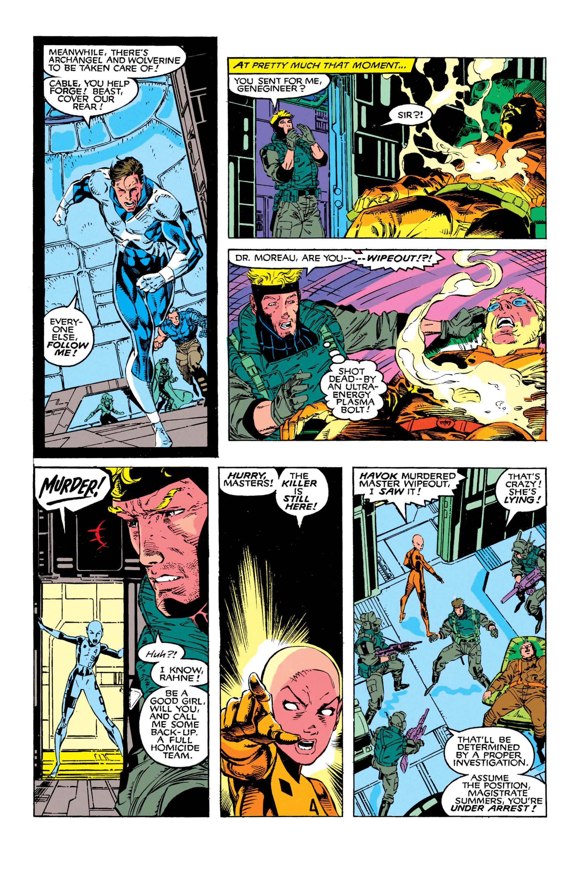 Read online Uncanny X-Men (1963) comic -  Issue #272 - 18