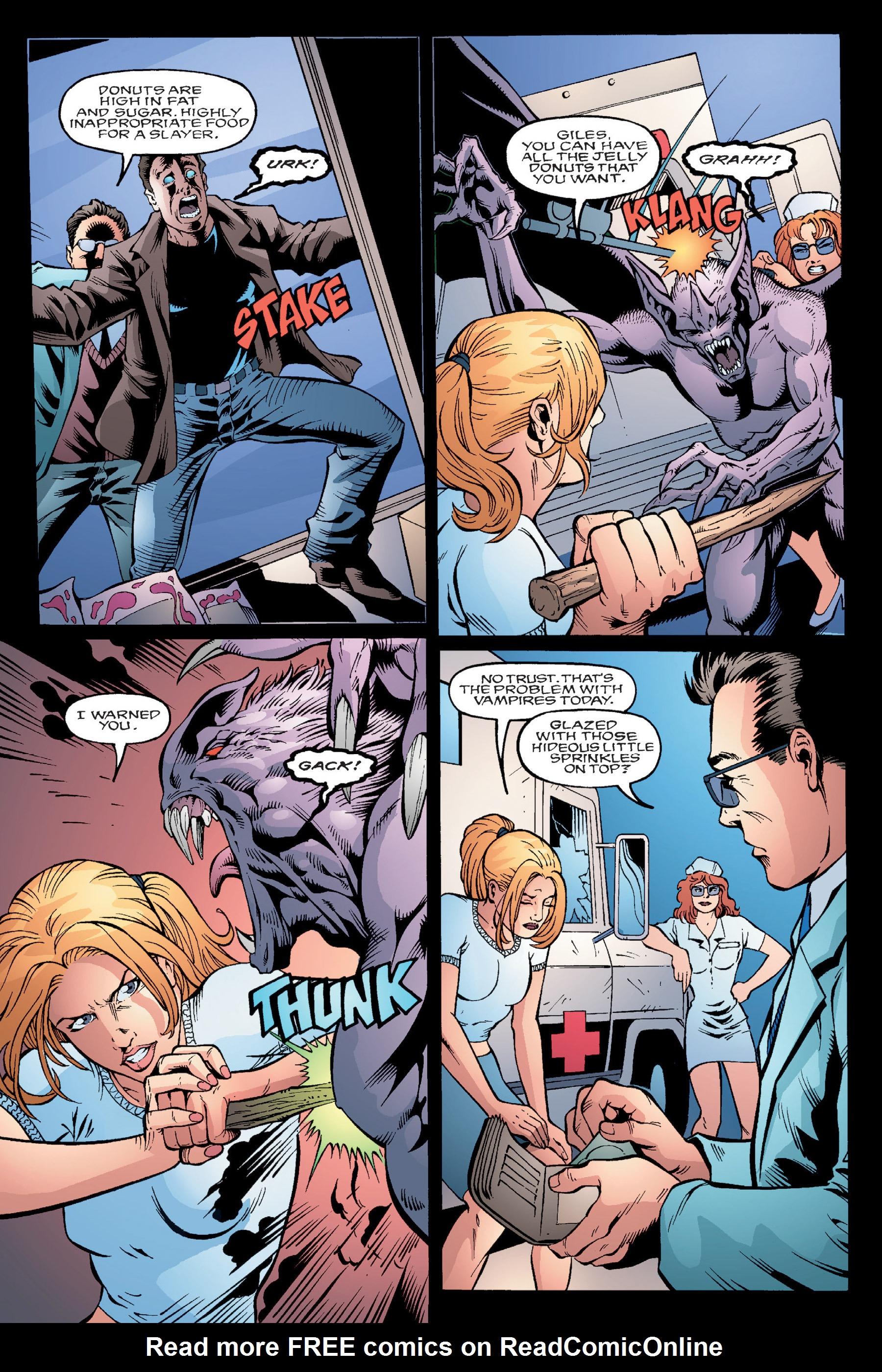 Read online Buffy the Vampire Slayer: Omnibus comic -  Issue # TPB 4 - 65