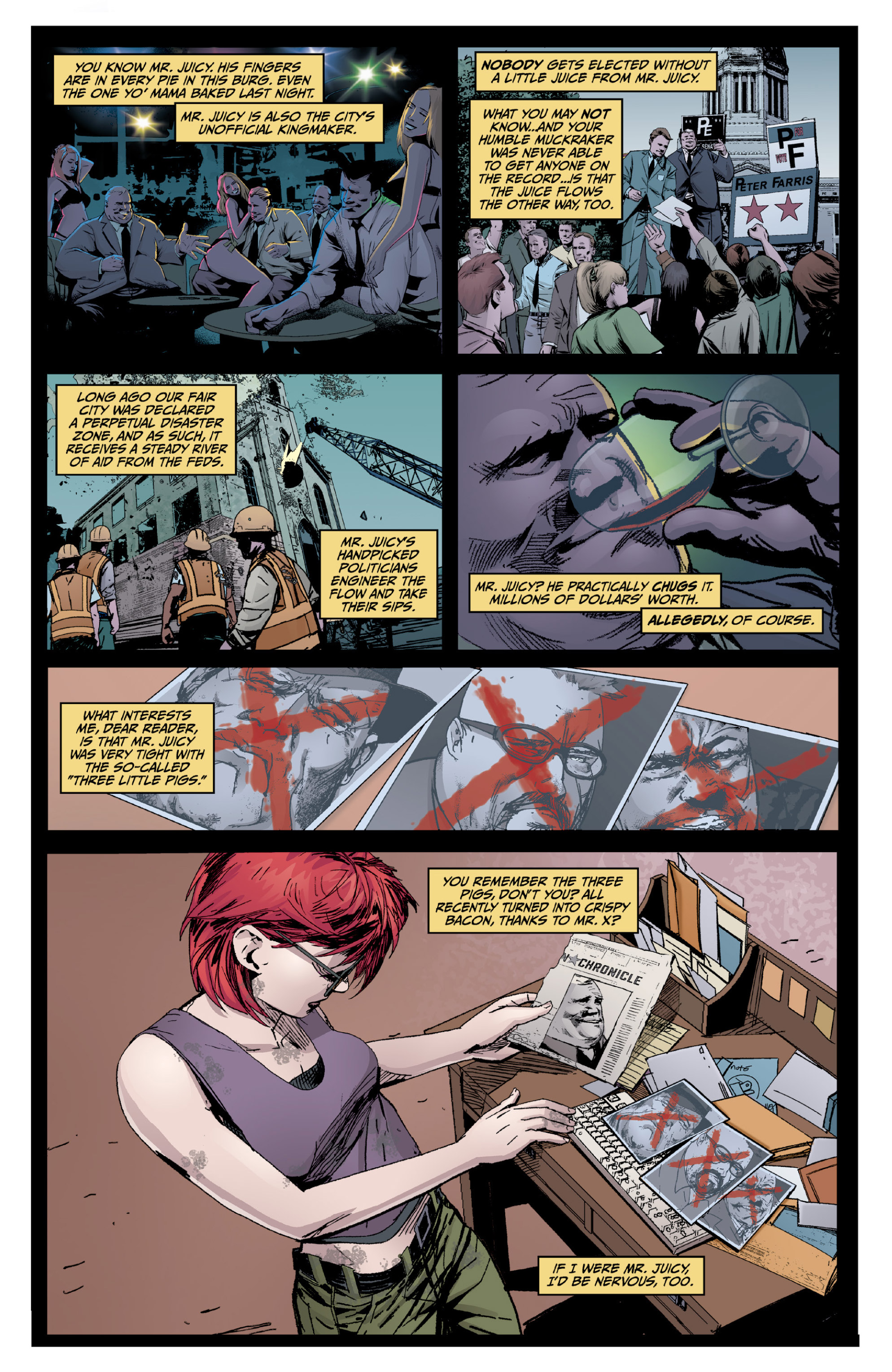 Read online X: Big Bad comic -  Issue # Full - 64