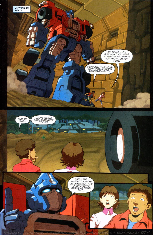 Read online Transformers Armada comic -  Issue #10 - 21