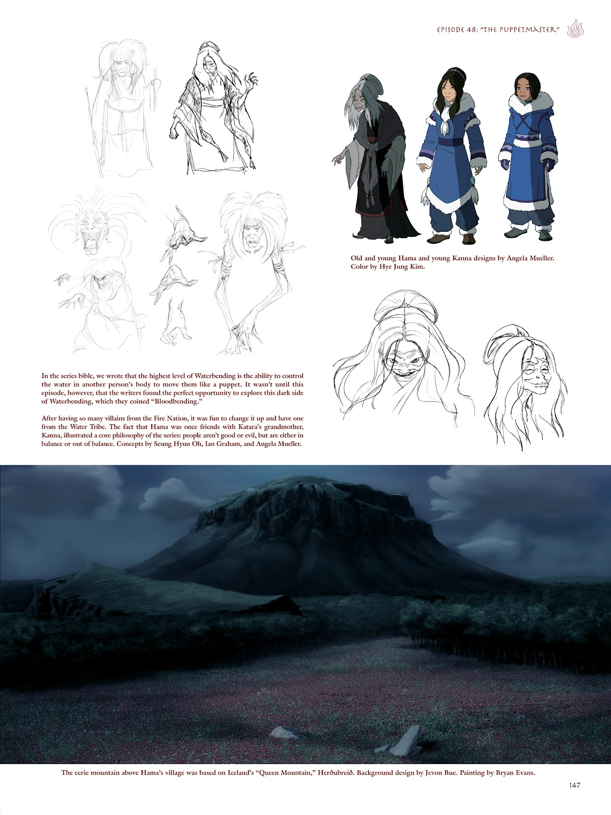 Read online Avatar: The Last Airbender - The Art of the Animated Series comic -  Issue # TPB (Part 2) - 44