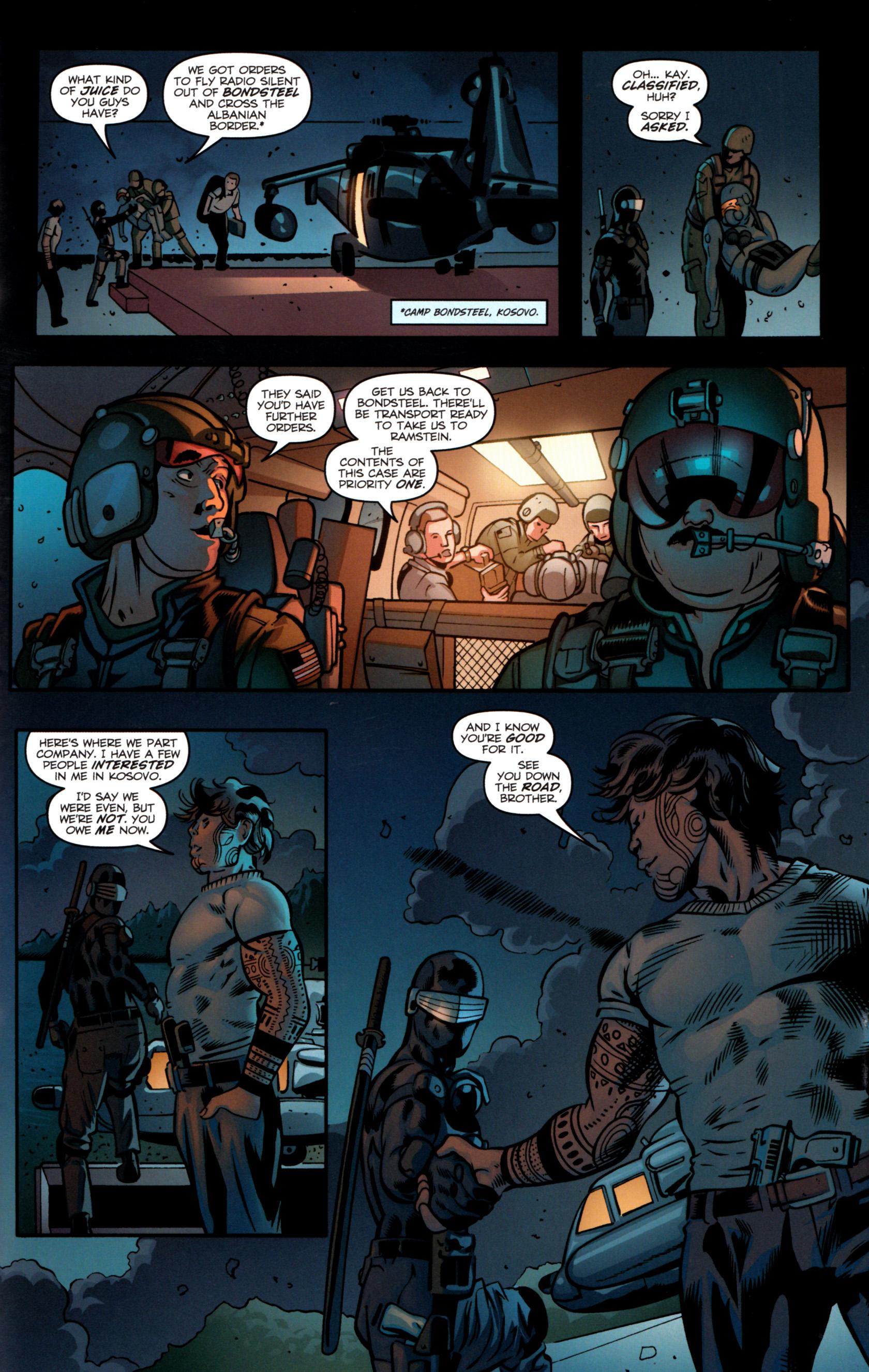 Read online G.I. Joe: Snake Eyes comic -  Issue #8 - 24