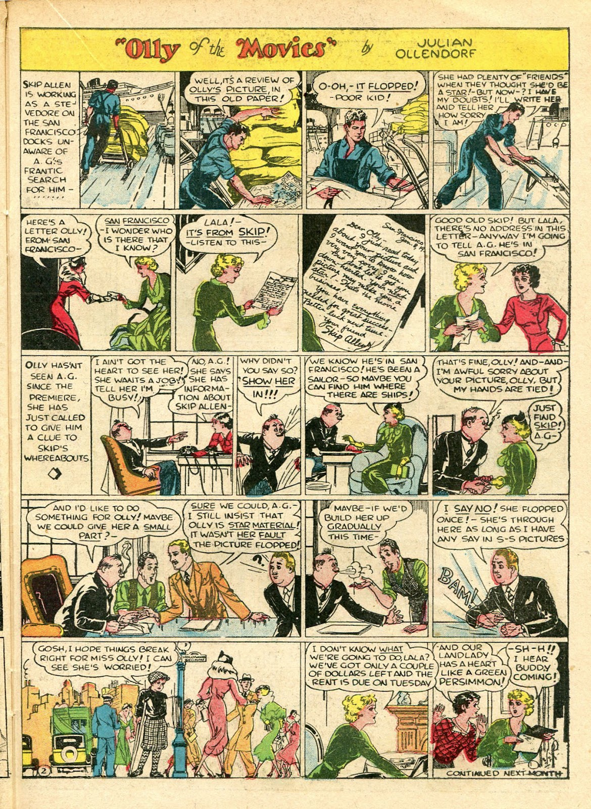 Read online Famous Funnies comic -  Issue #33 - 45