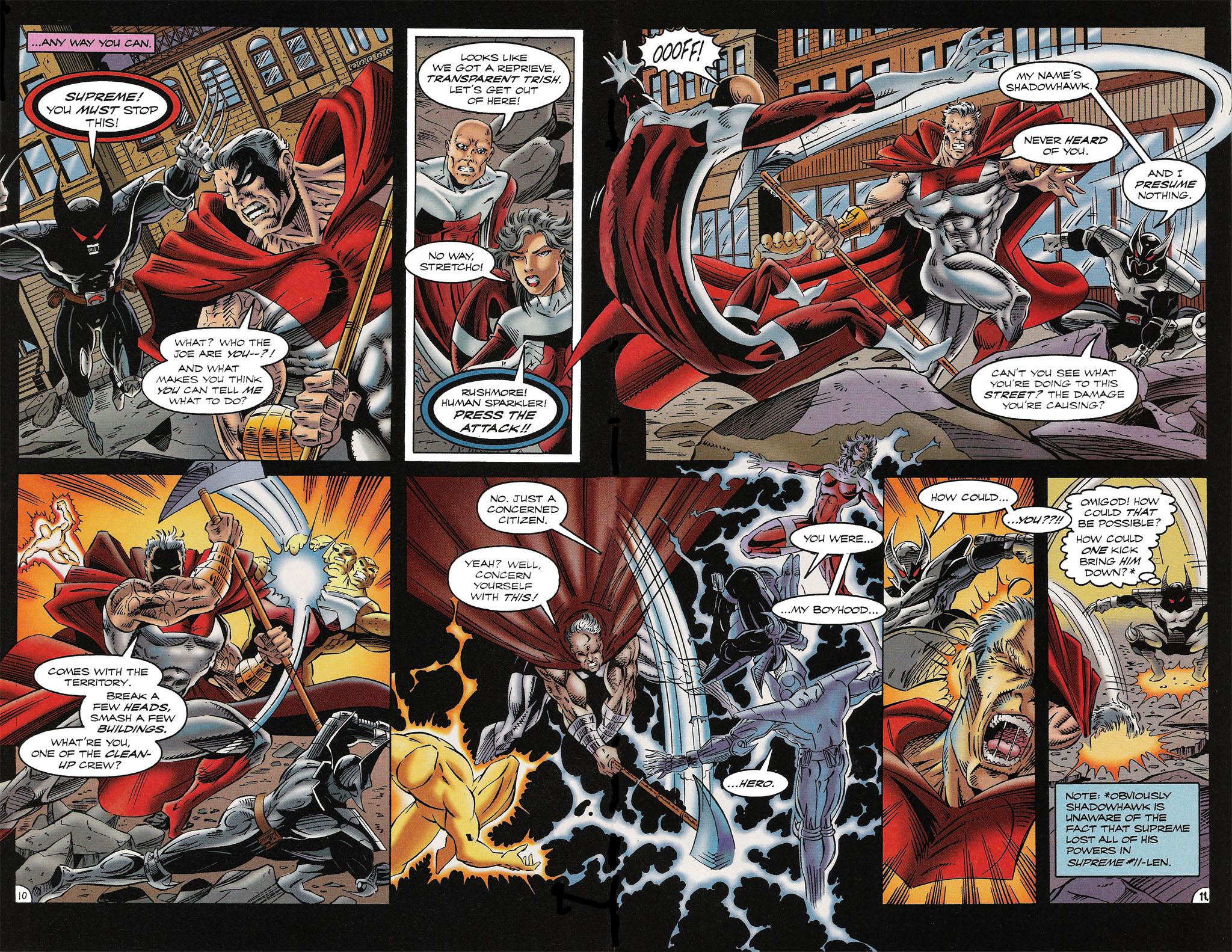 Read online ShadowHawk comic -  Issue #16 - 9