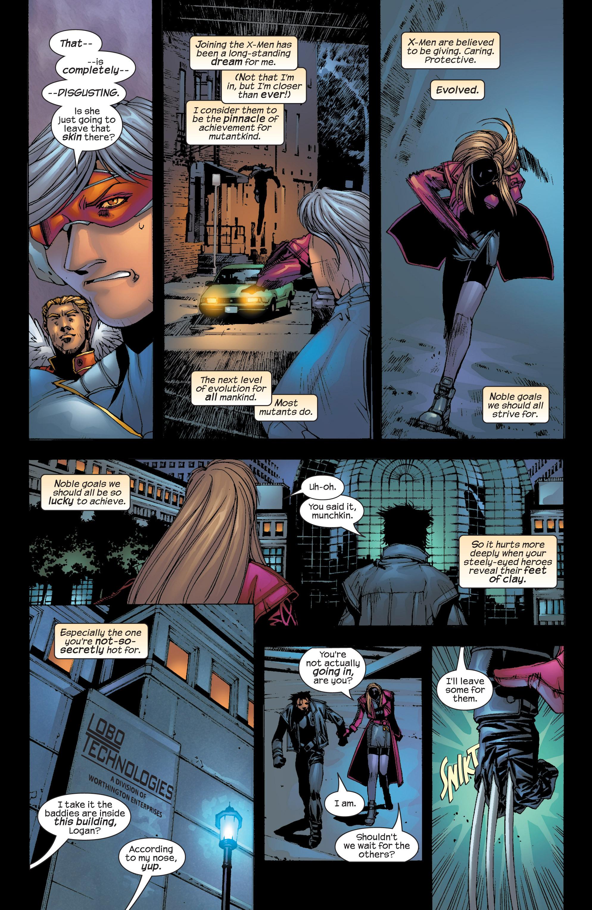 Read online Uncanny X-Men (1963) comic -  Issue #417 - 21