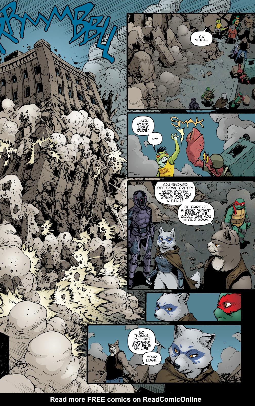 Read online Teenage Mutant Ninja Turtles: The IDW Collection comic -  Issue # TPB 5 (Part 2) - 67