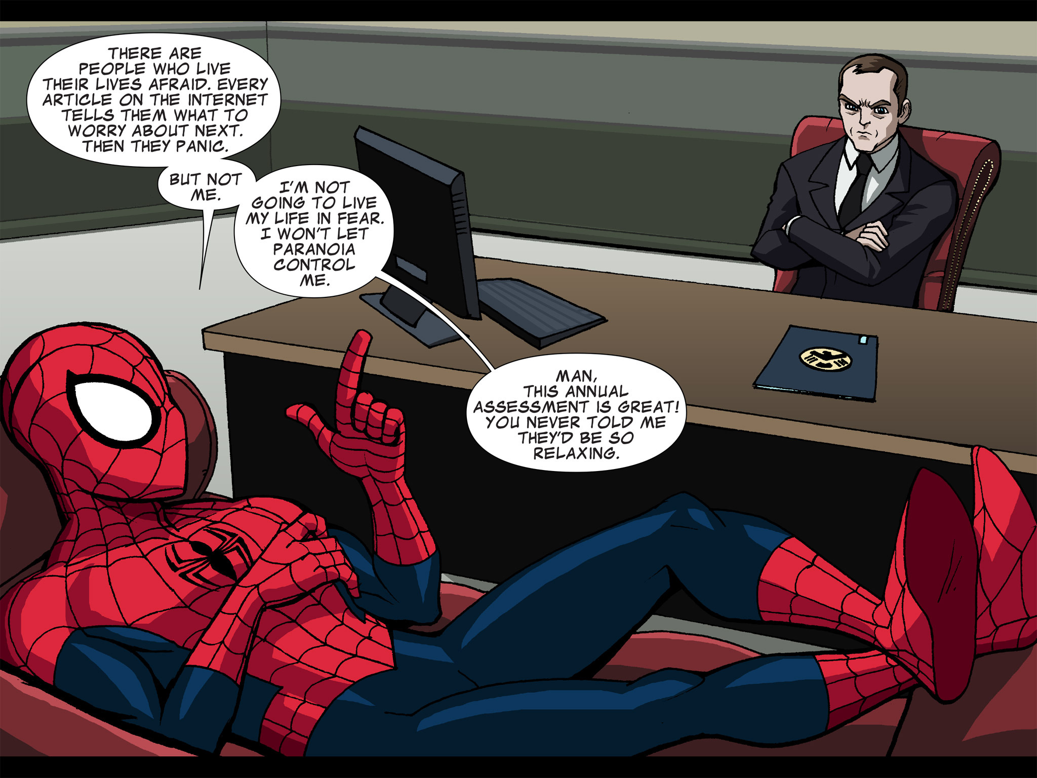 Read online Ultimate Spider-Man (Infinite Comics) (2015) comic -  Issue #6 - 42