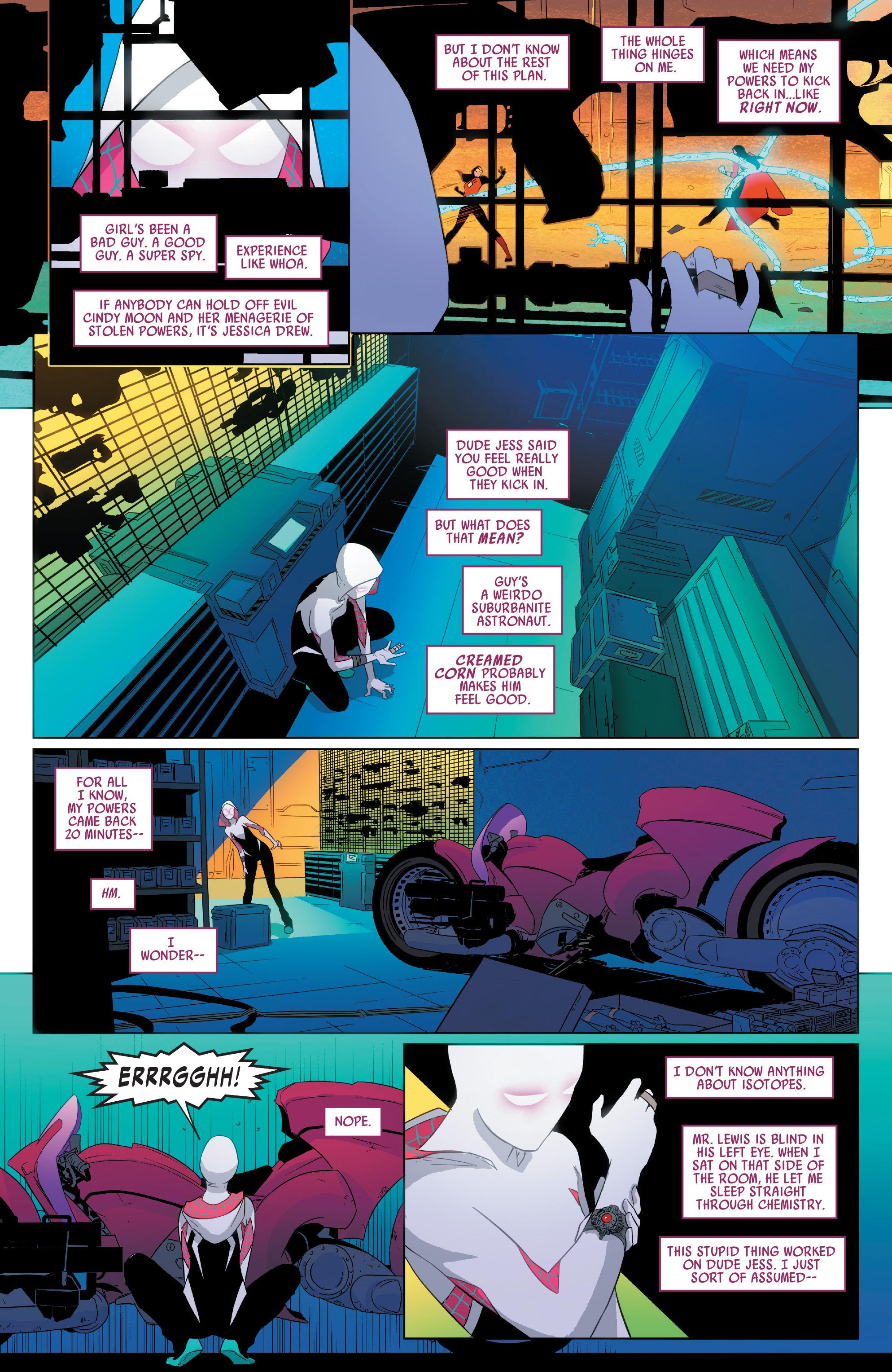 Read online Spider-Women Omega comic -  Issue # Full - 12