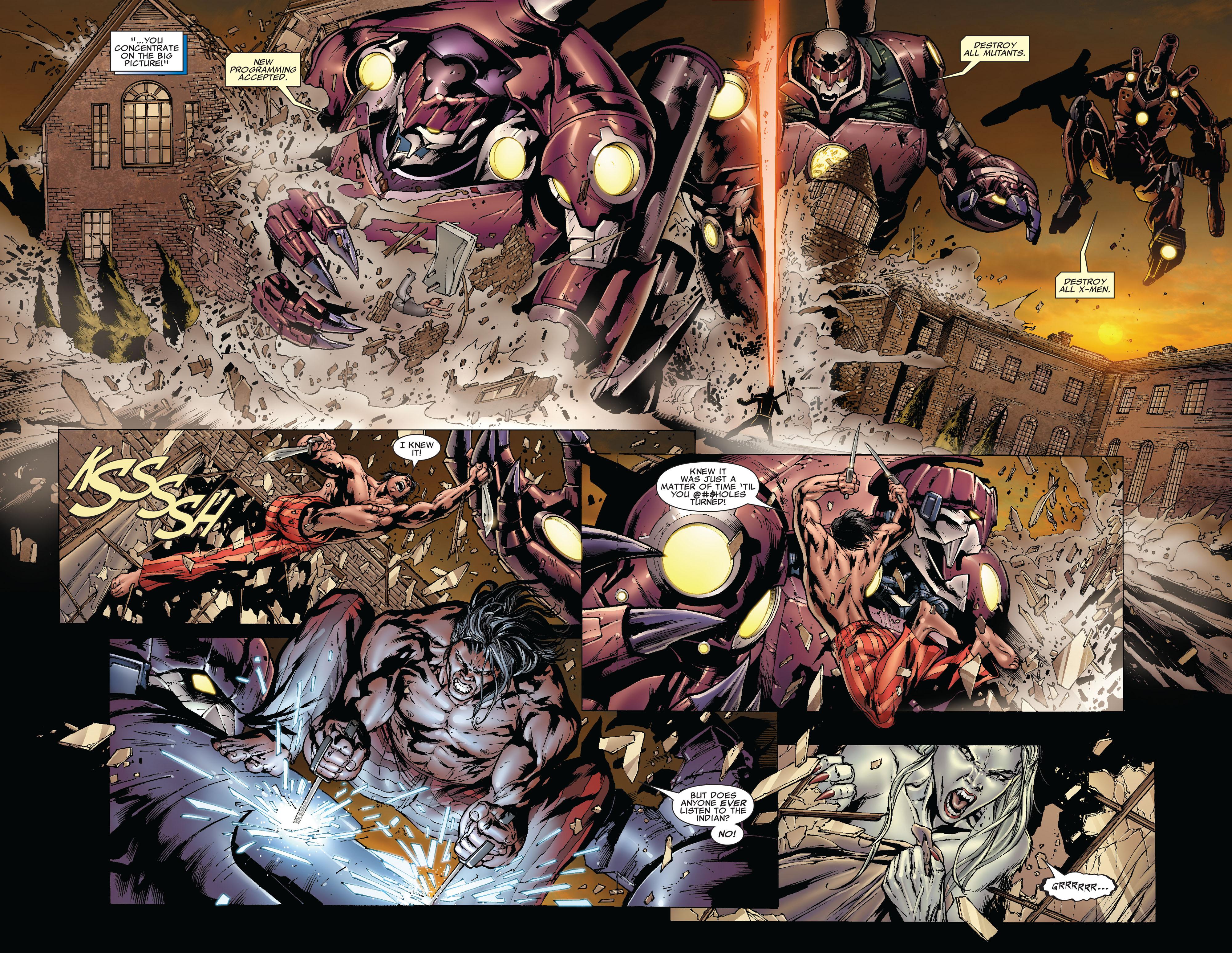 Read online Uncanny X-Men (1963) comic -  Issue #493 - 6