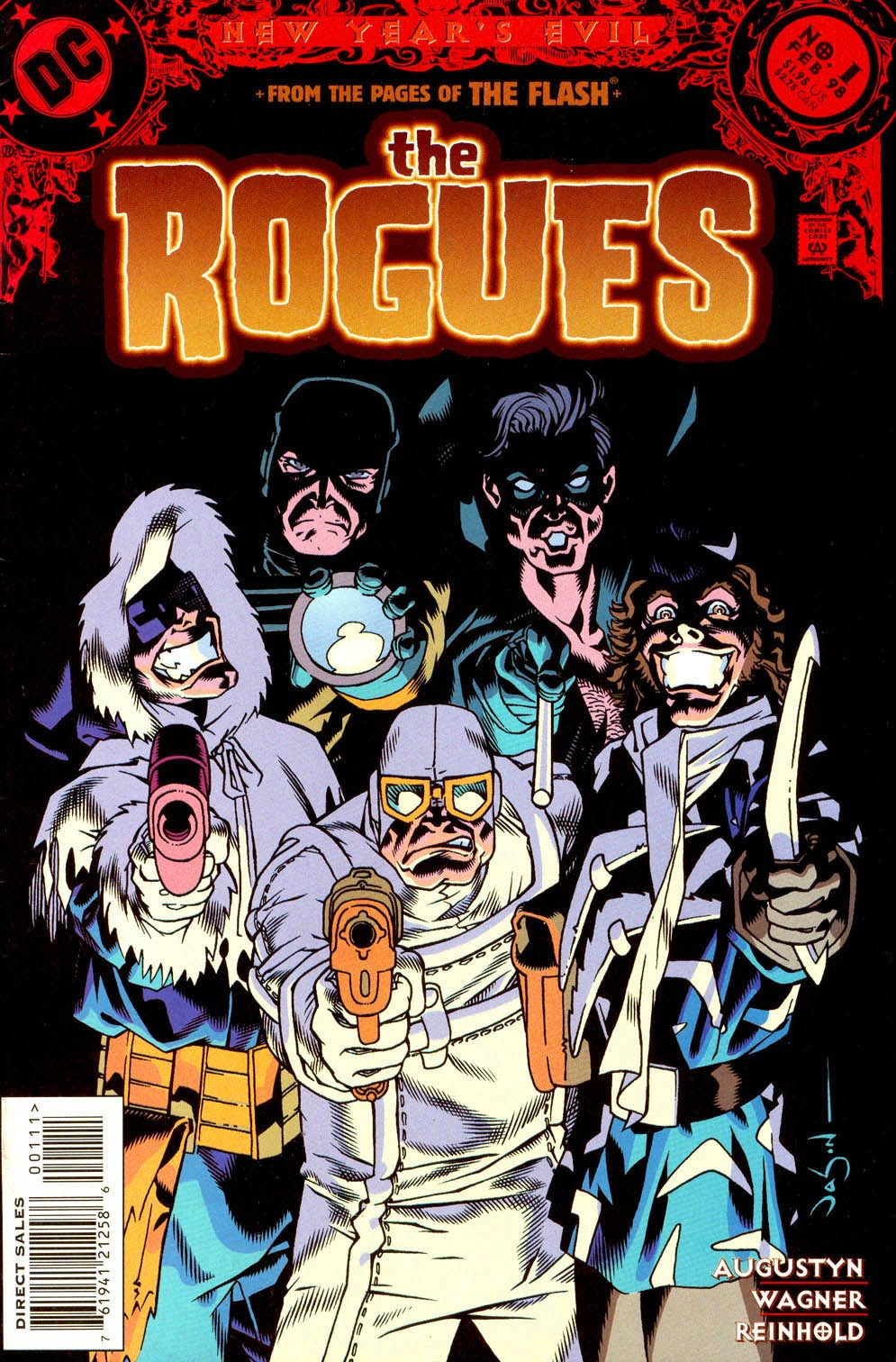 The Rogues (Villains) issue Full - Page 1
