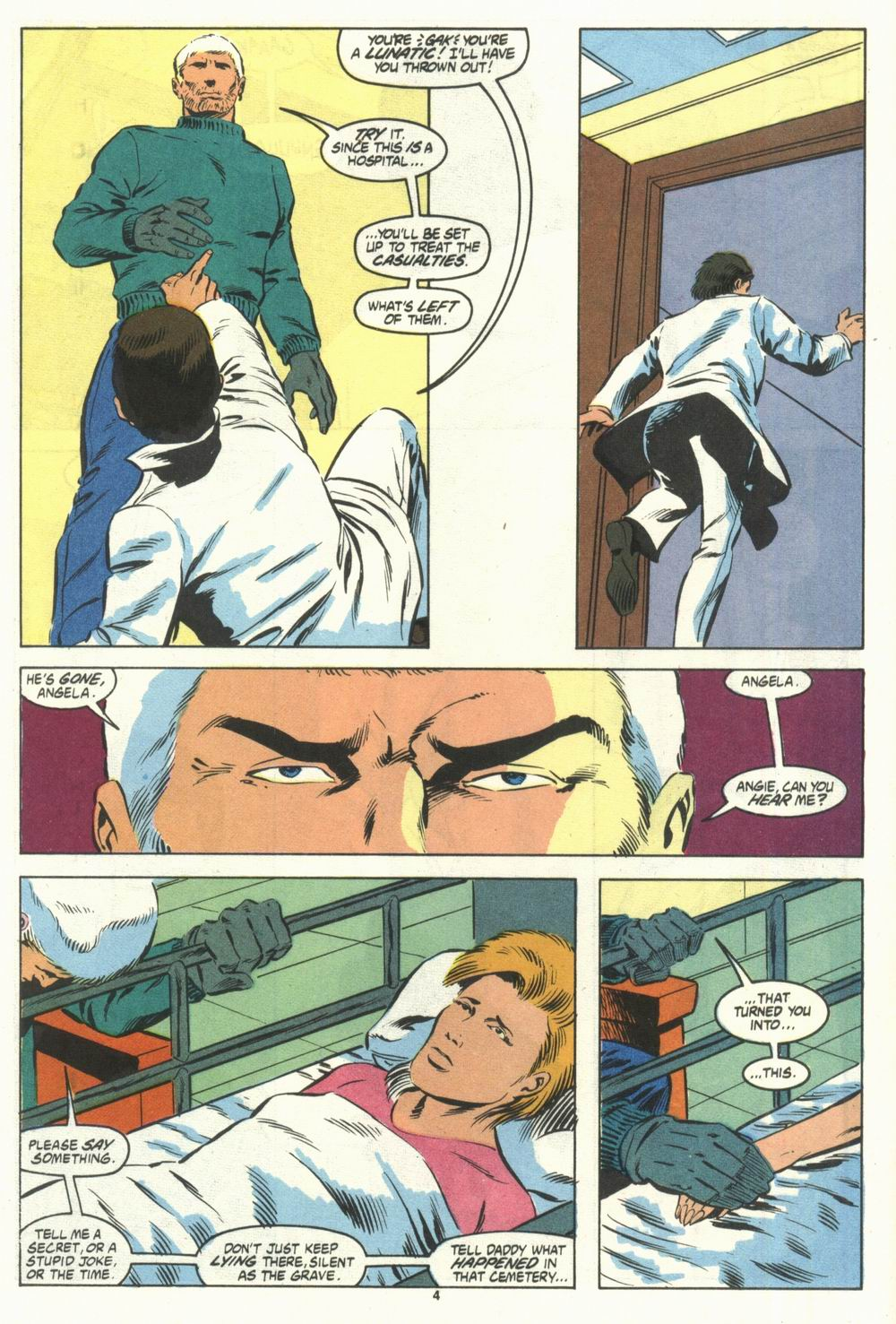 Read online Justice (1986) comic -  Issue #28 - 6