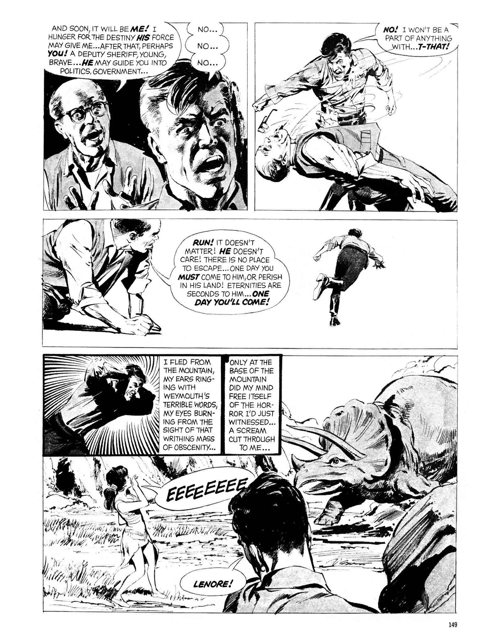 Read online Eerie Archives comic -  Issue # TPB 20 - 149