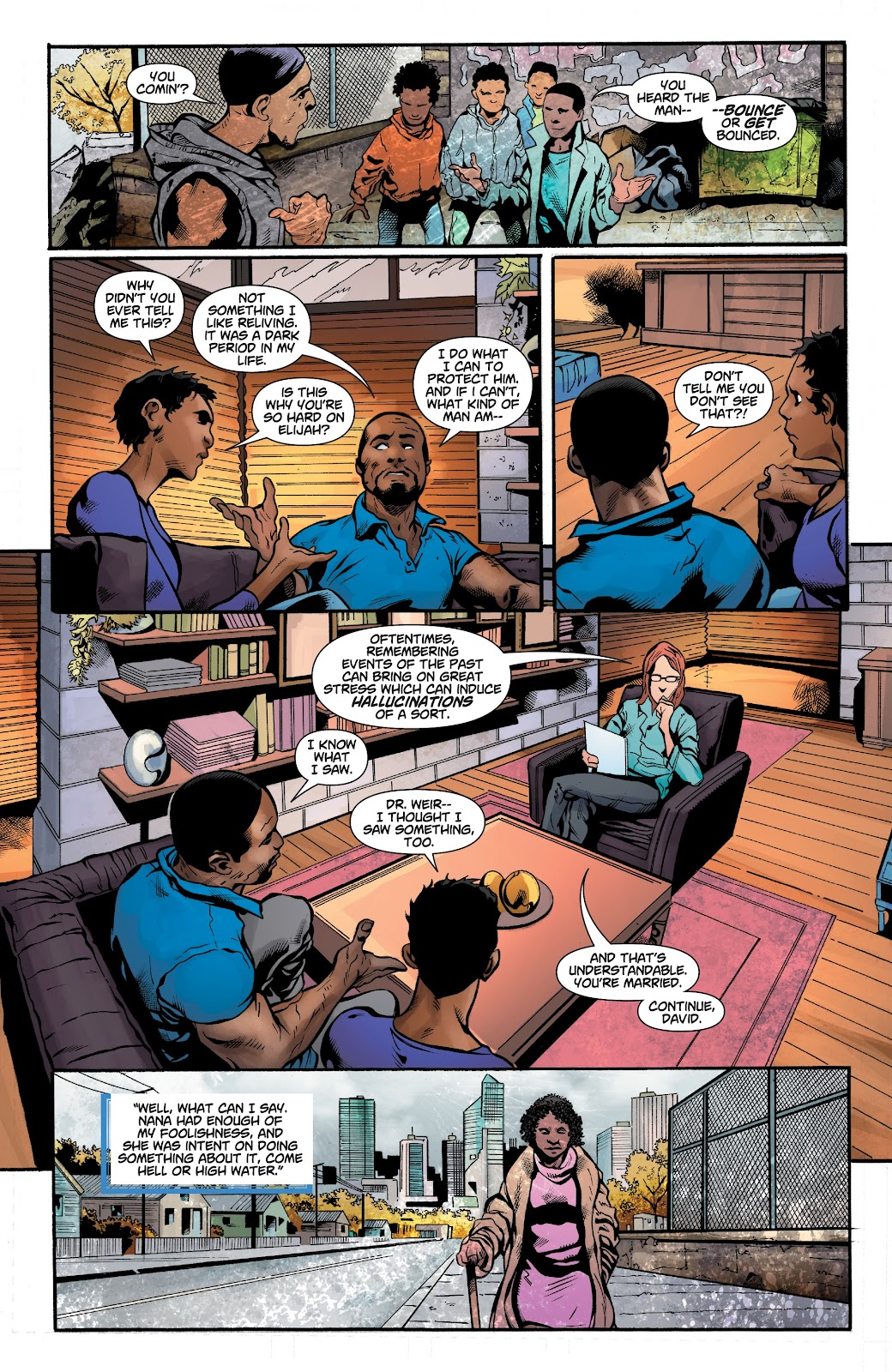 Read online Noble comic -  Issue #15 - 15