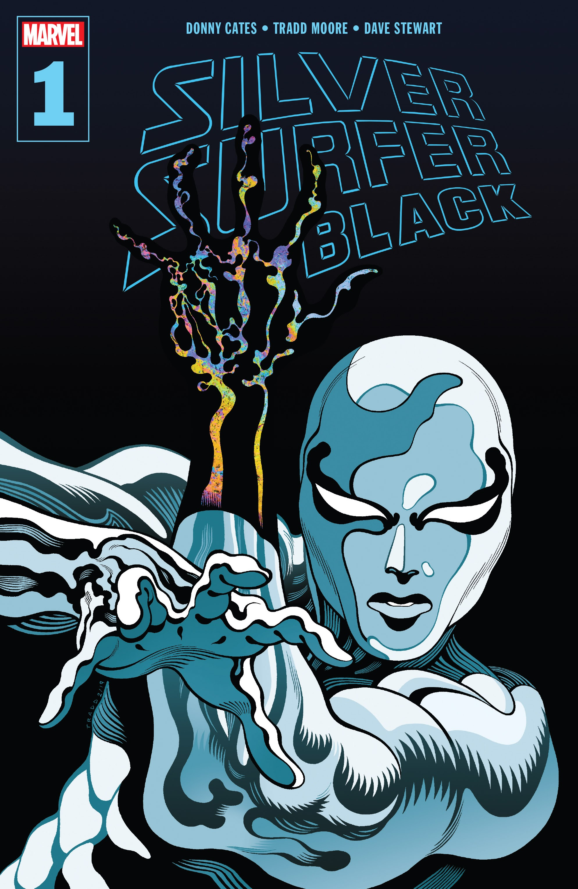 Silver Surfer: Black issue 1 - Page 1