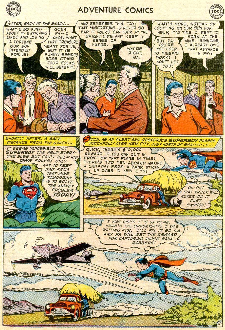 Read online Adventure Comics (1938) comic -  Issue #244 - 12