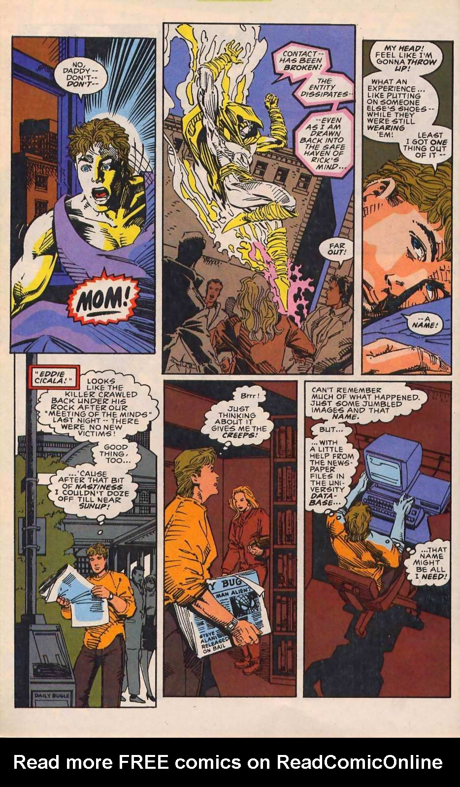 Read online Sleepwalker comic -  Issue #30 - 11