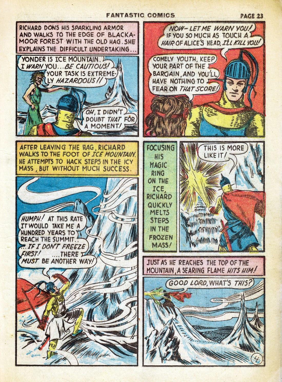 Read online Fantastic Comics comic -  Issue #7 - 25