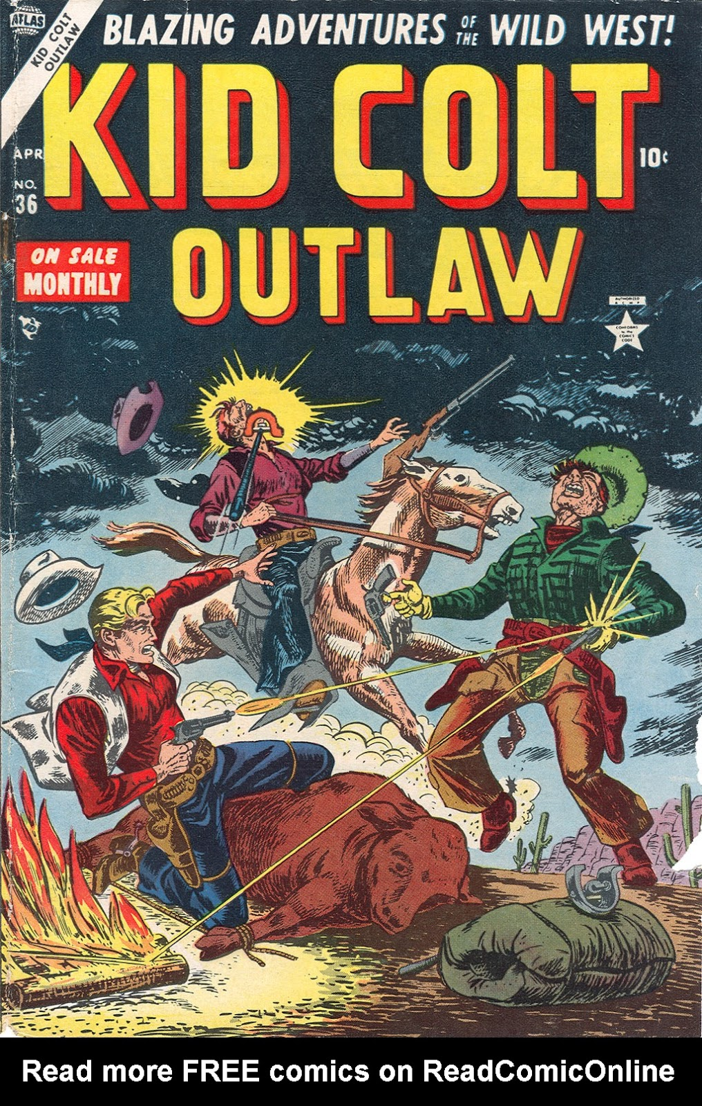 Kid Colt Outlaw issue 36 - Page 1