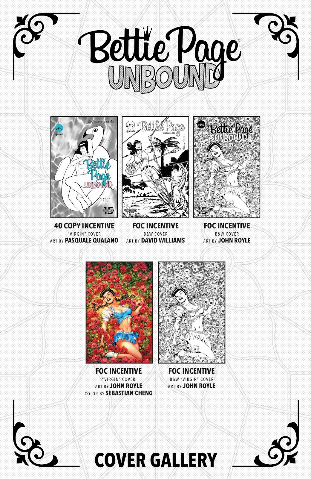 Read online Bettie Page: Unbound comic -  Issue #6 - 29