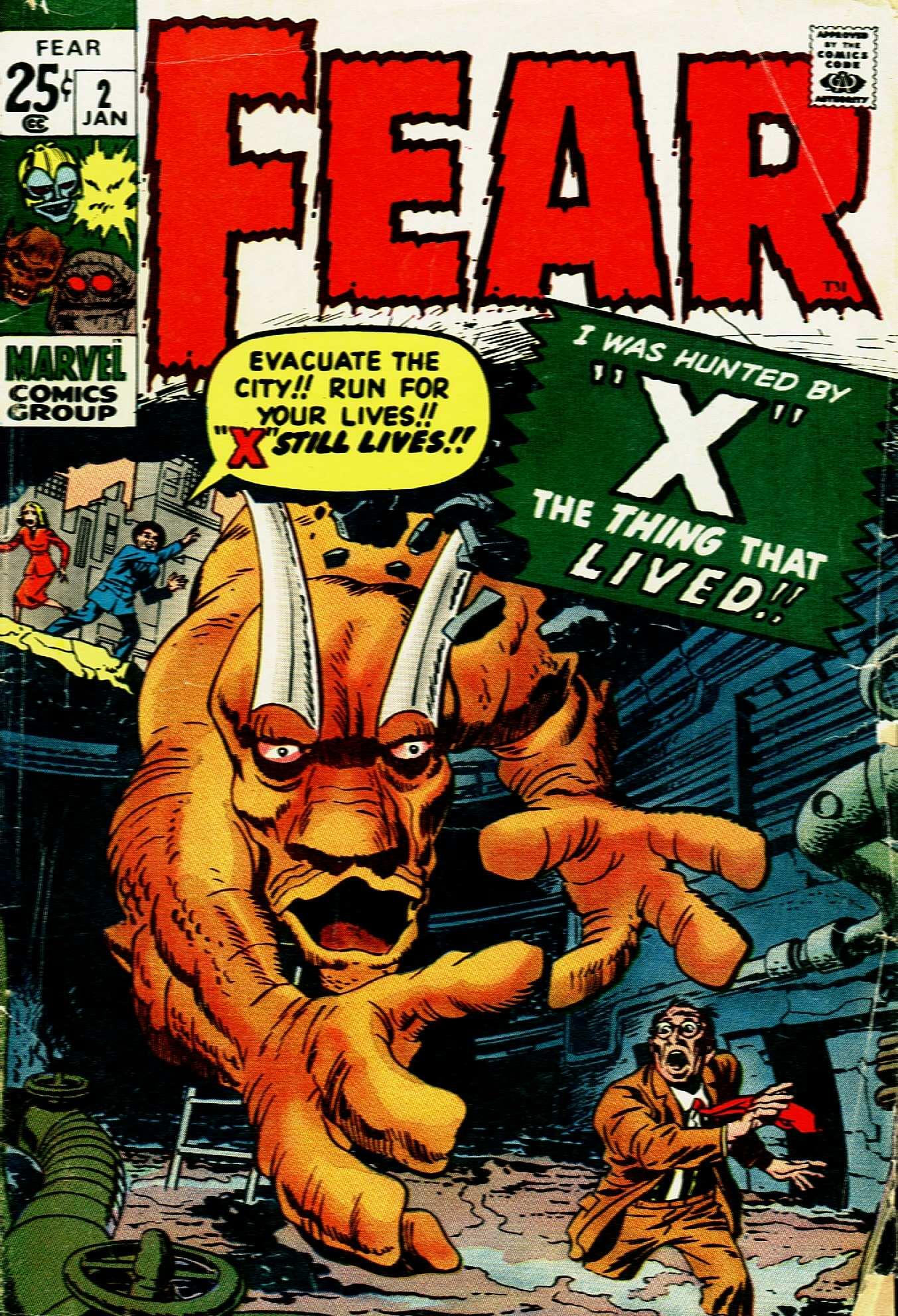 Fear 2 Page 1