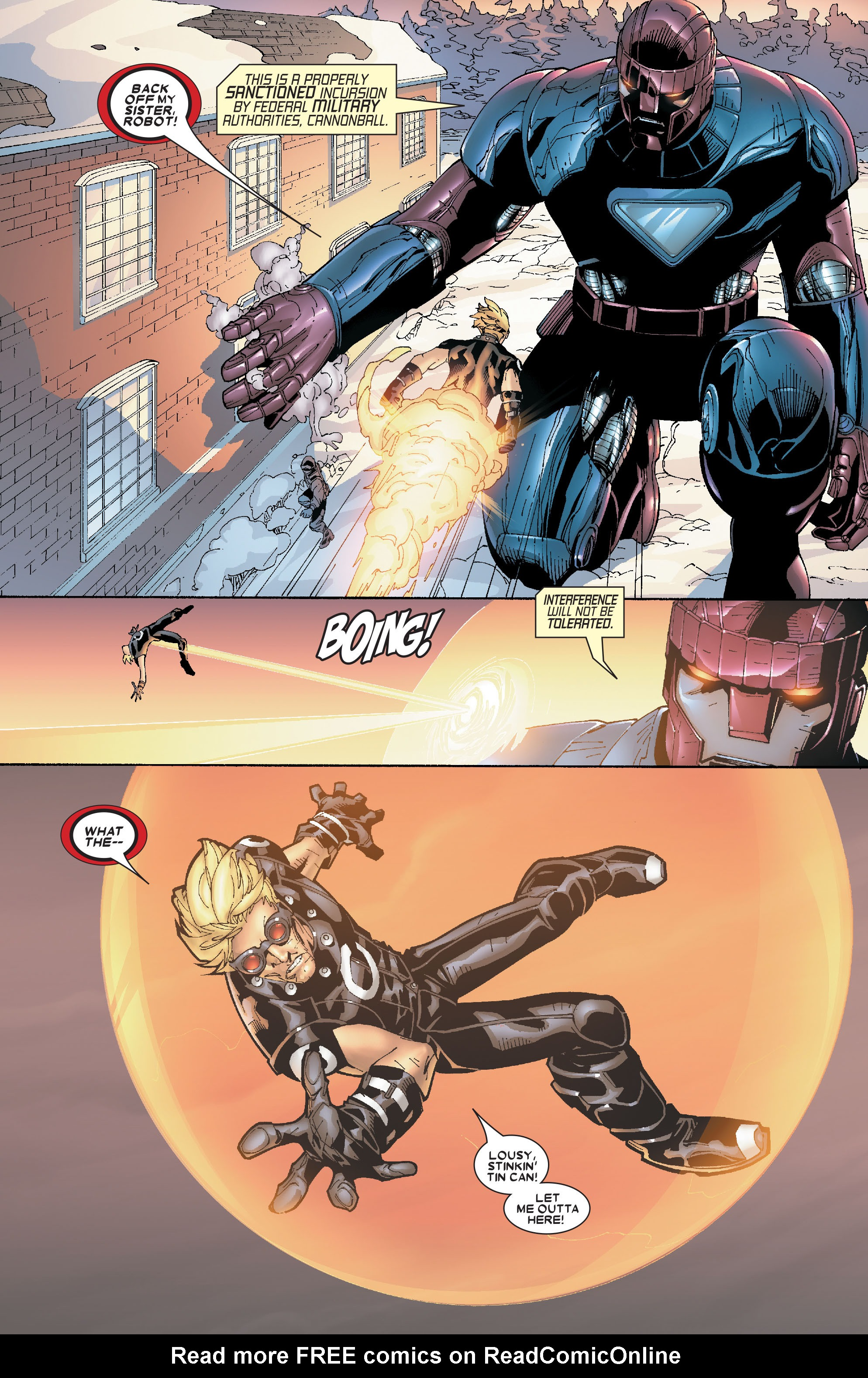 Read online Uncanny X-Men (1963) comic -  Issue #469 - 11