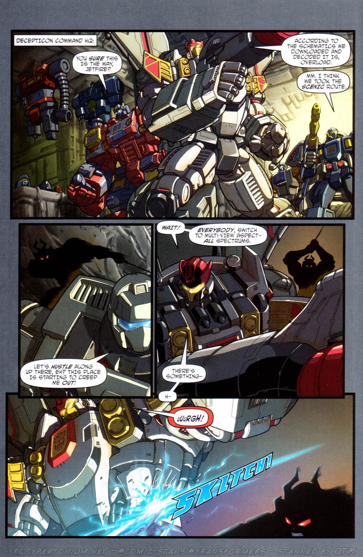 Read online Transformers Armada comic -  Issue #16 - 16