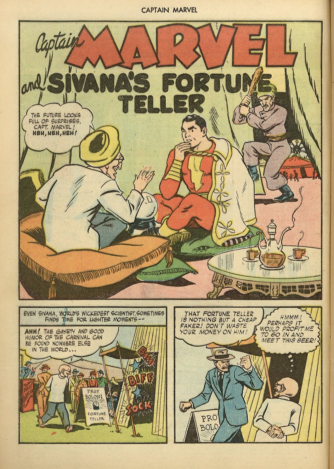 Captain Marvel Adventures issue 70 - Page 4