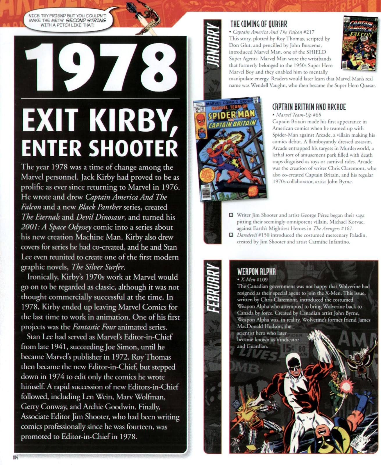 Read online Marvel Chronicle comic -  Issue # TPB (Part 2) - 73
