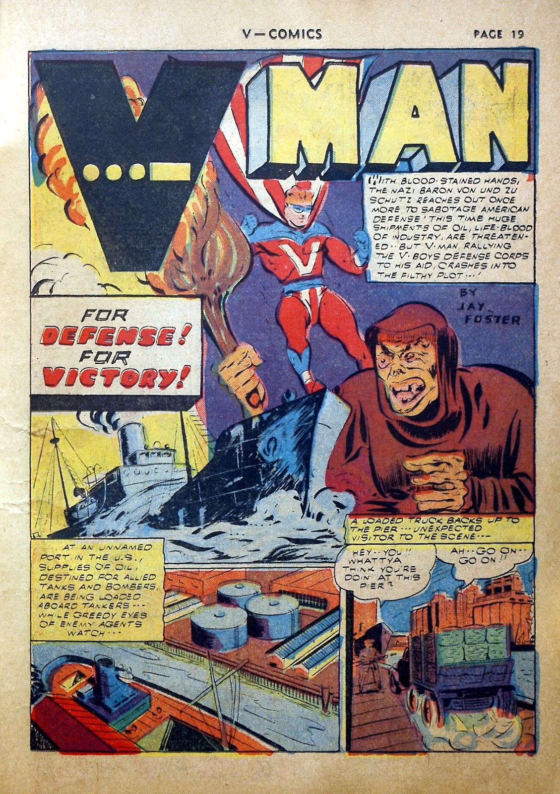 Read online V...- Comics comic -  Issue #2 - 20