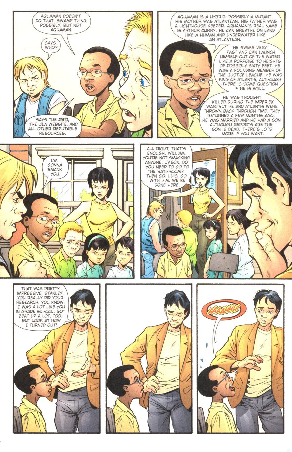 Read online Aquaman (2003) comic -  Issue #14 - 8
