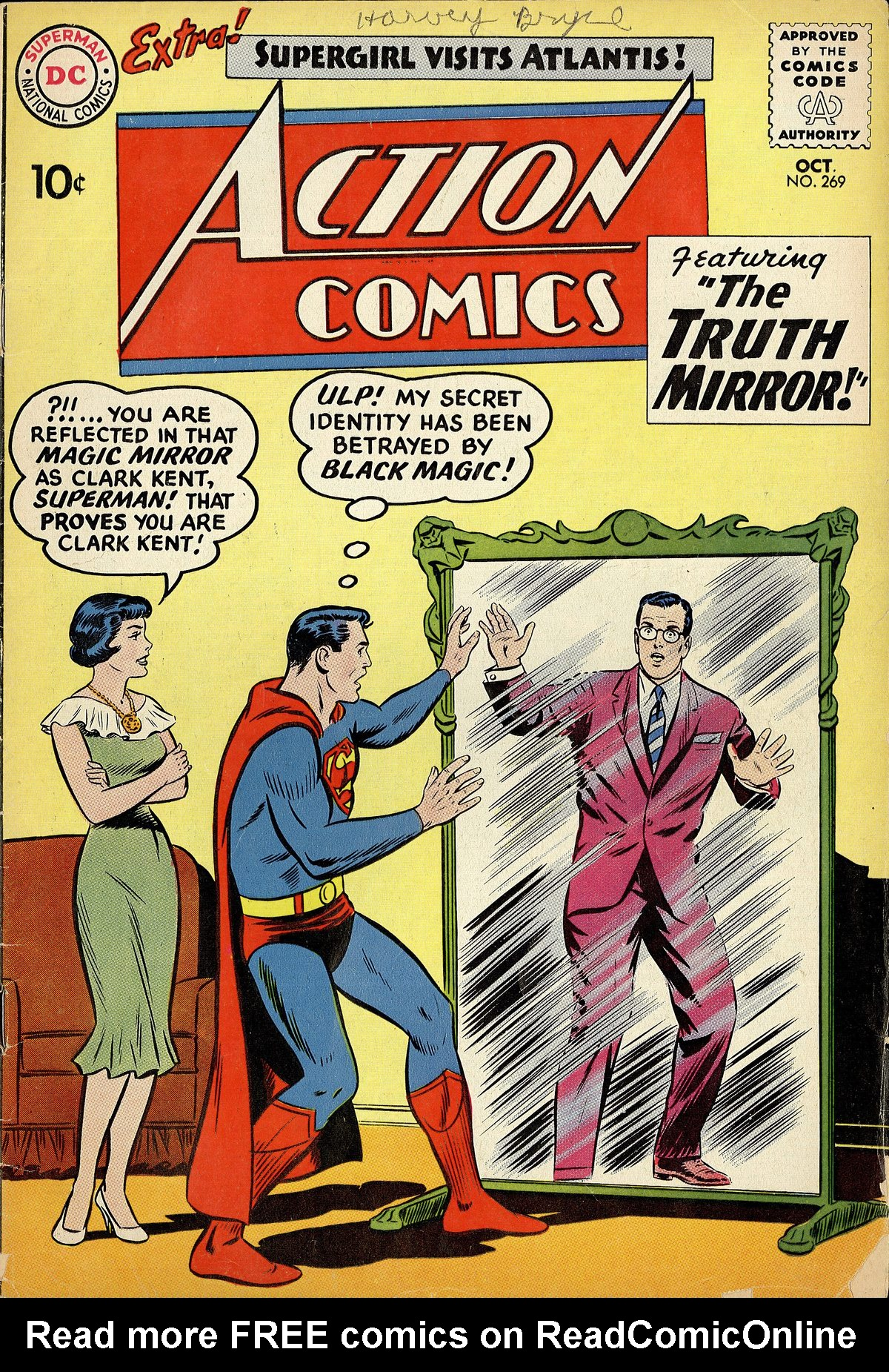 Read online Action Comics (1938) comic -  Issue #269 - 1