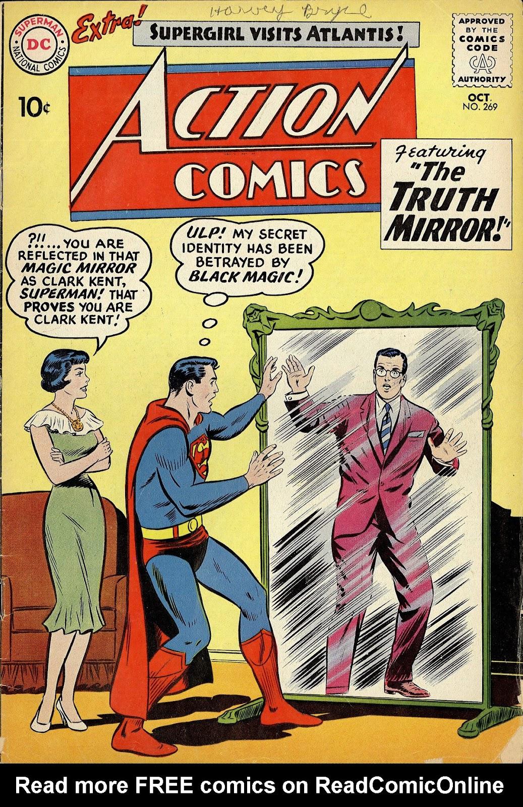 Action Comics (1938) 269 Page 1