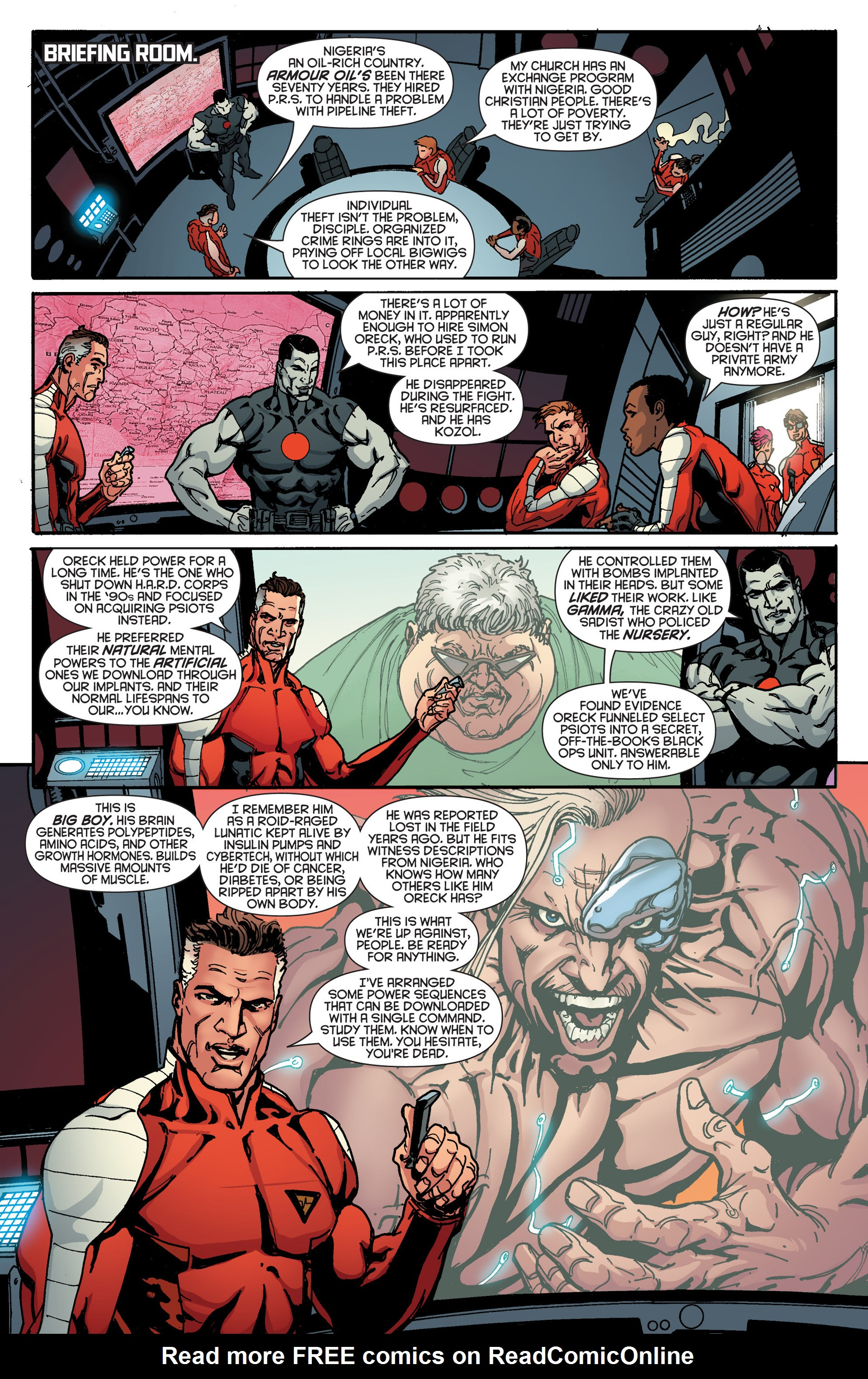 Read online Bloodshot and H.A.R.D.Corps comic -  Issue #18 - 7