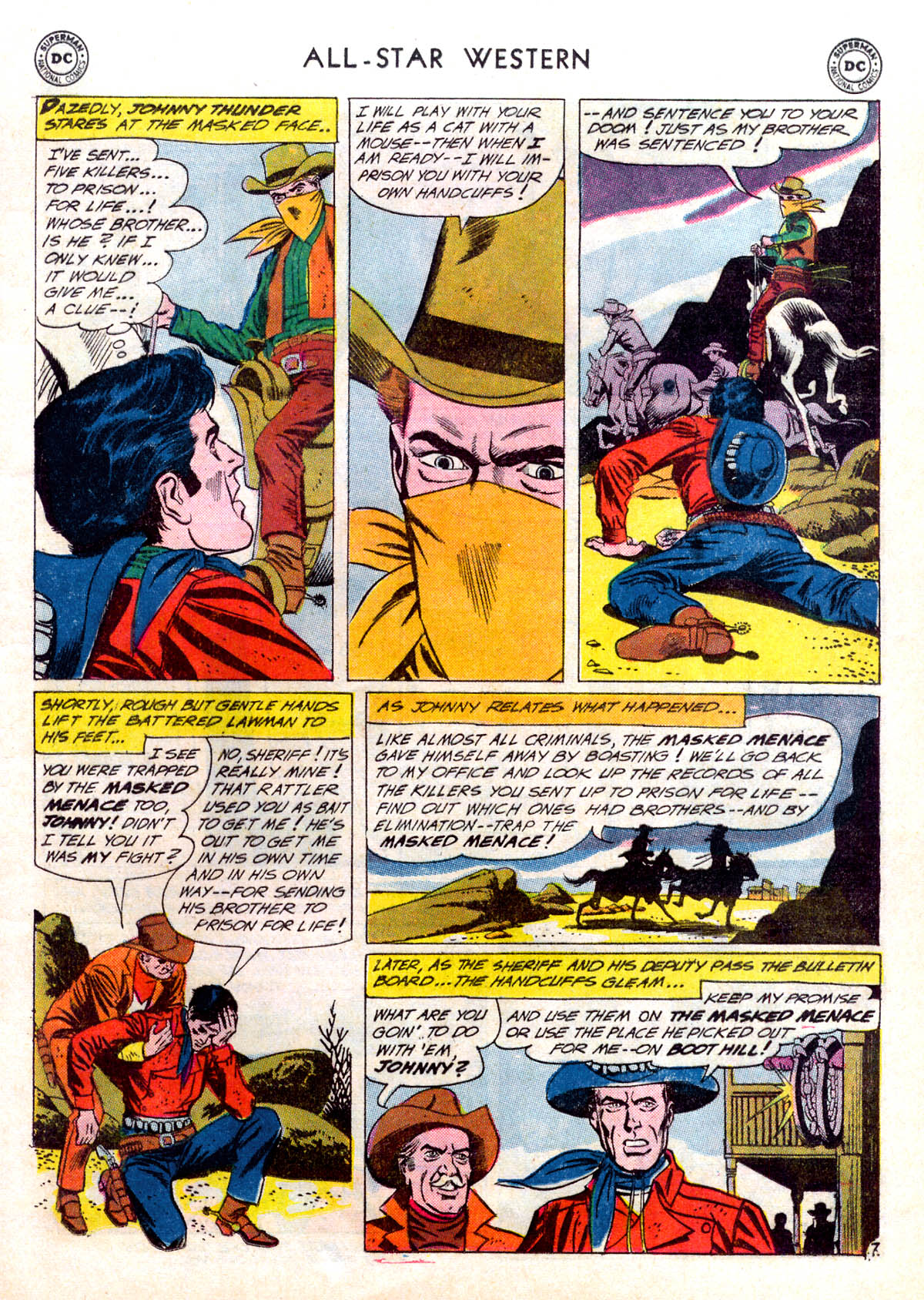 Read online All-Star Western (1951) comic -  Issue #116 - 9