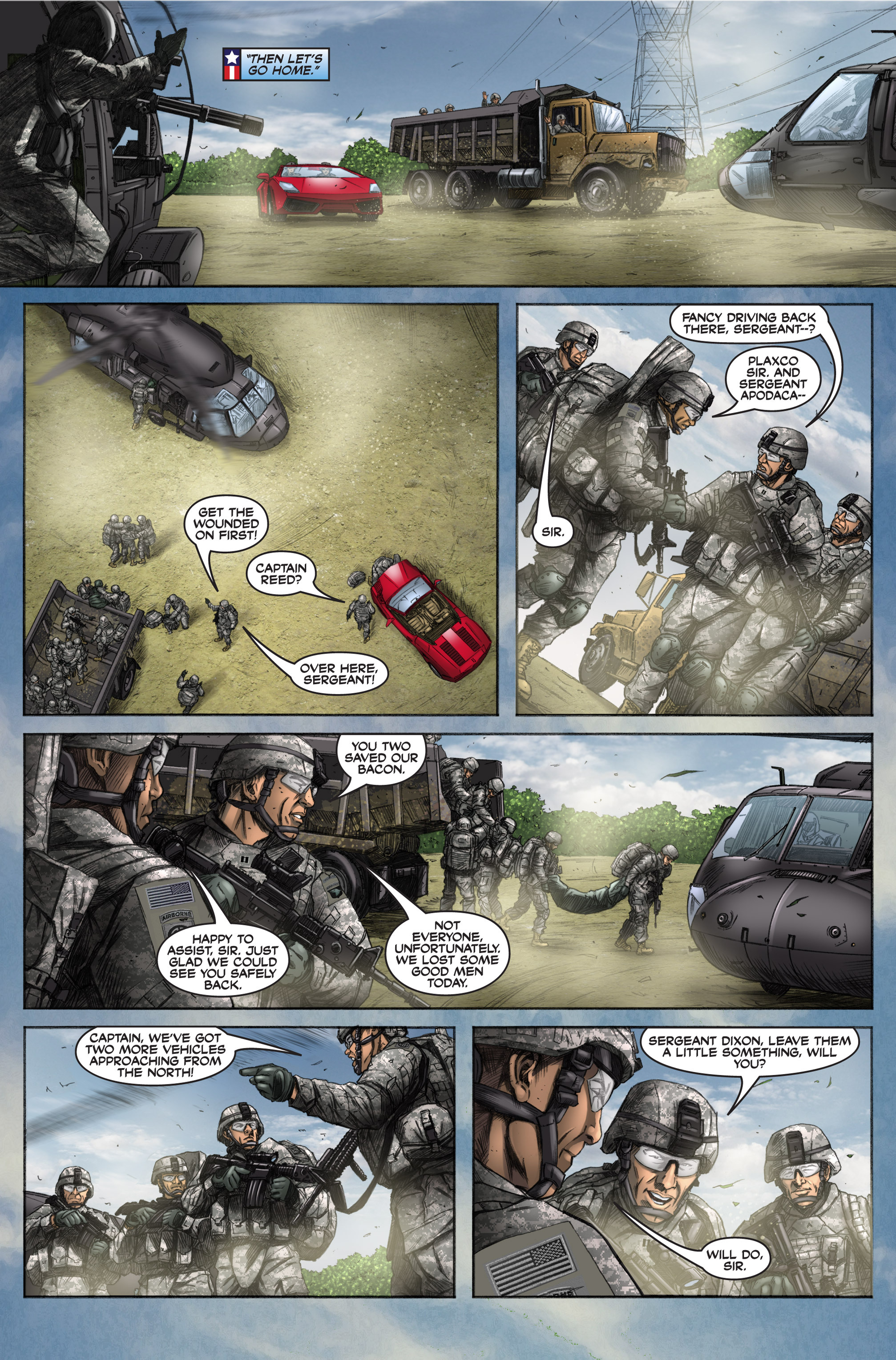 Read online America's Army comic -  Issue #6 - 36