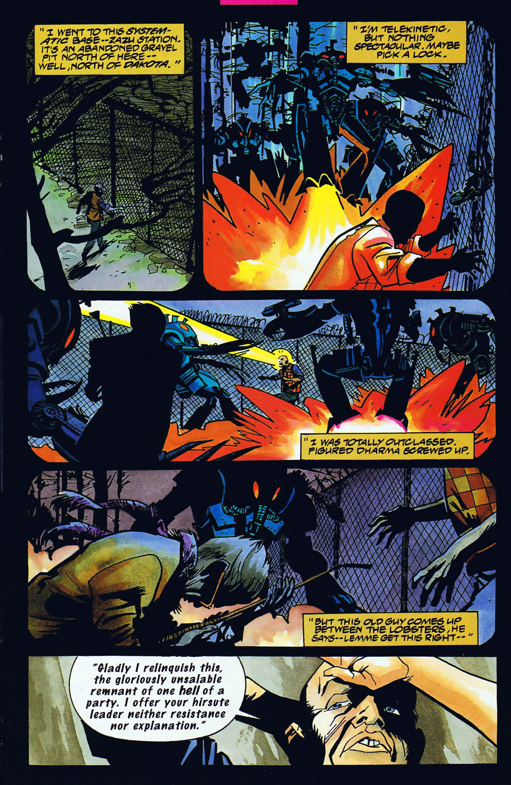 Read online Shadow Cabinet comic -  Issue #15 - 8