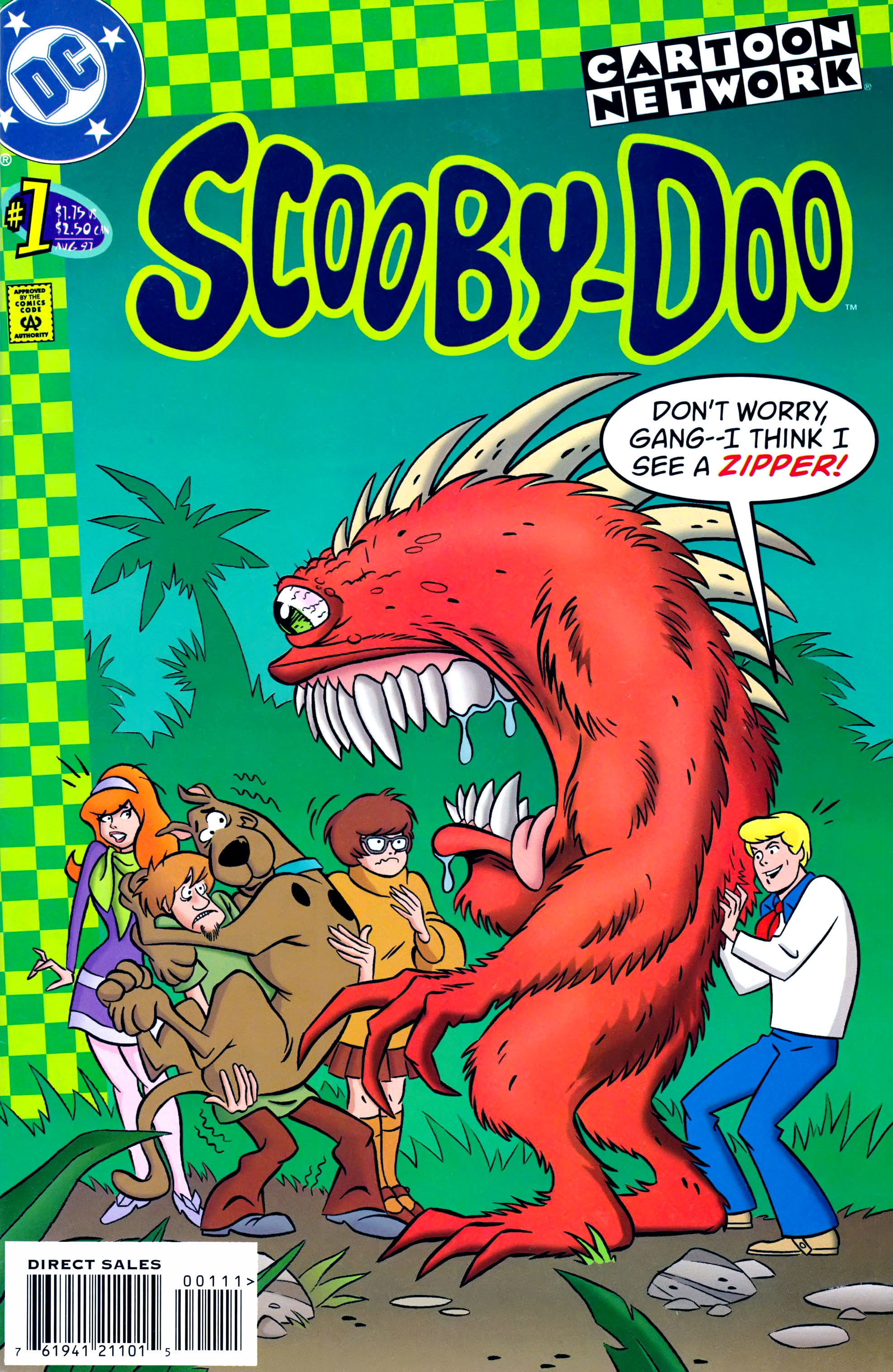 Read online Scooby-Doo (1997) comic -  Issue #1 - 1
